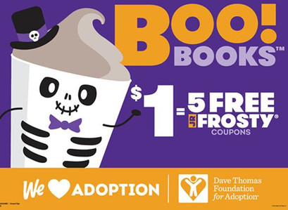 Wendy's Boo! Books Are Back For 2020 | Get Five Frostys For Just $1