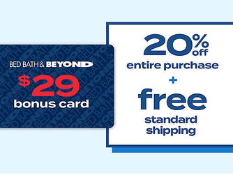 Get a $29 Bonus Card When You Join BEYOND+ at Bed Bath and Beyond