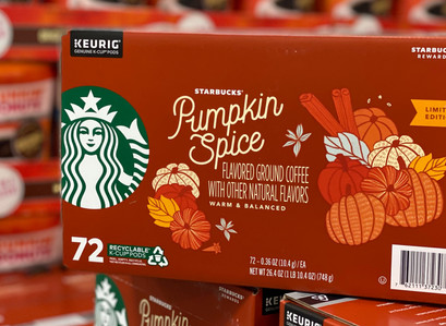 Sam's Club | It's Back! Starbucks Coffee K-Cups, Pumpkin Spice (72 ct.)