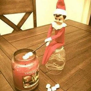 Roasting Marshmallows | Elf On The Shelf