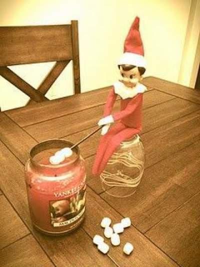 Roasting Marshmallows | Elf On The Shelf