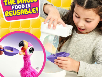 Little Live Pets Gotta Go Flamingo   Interactive Plush Toy That Eats, Sings, Wiggles, Poops and Talk