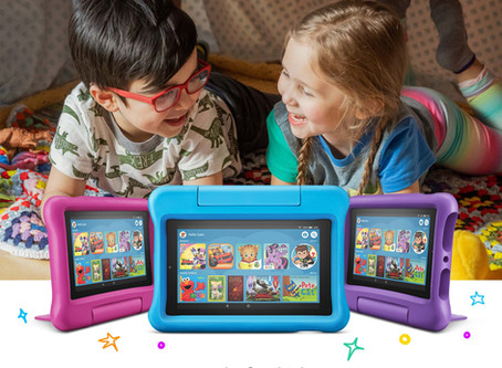 """Fire 7 Kids Edition Tablet, 7"""" Display 16 GB Kid-Proof Case"""