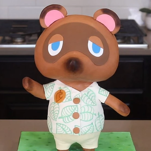 Animal Crossing Cake + Video