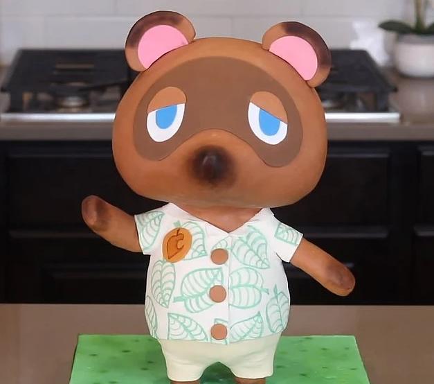 Animal Crossing Cake + Video