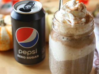 Recipe | How To Make a Christmas Pepsi Zero Sugar Float