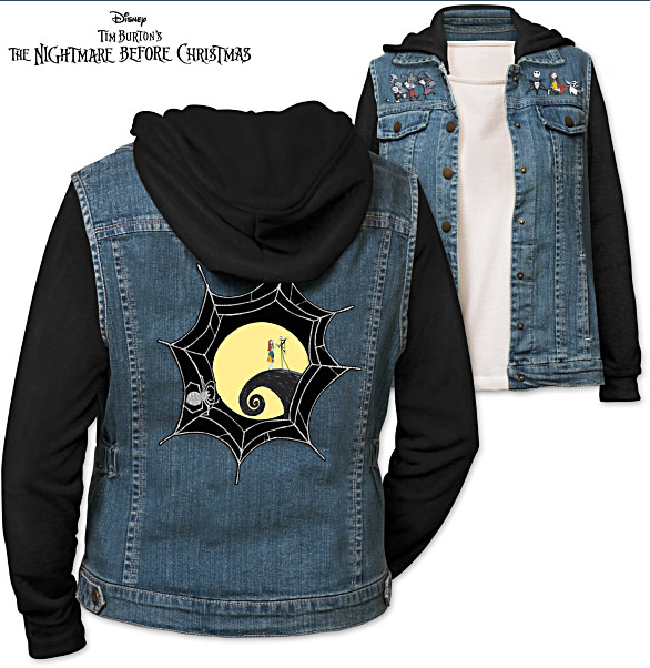 Disney Nightmare Before Christmas Hoodie Jacket