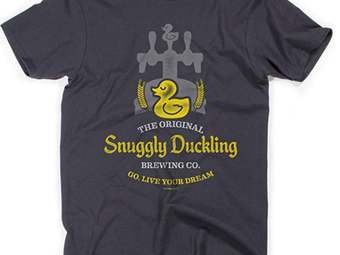 Disney Tangled Inspired Snuggly Duckling Brewing Company Tee