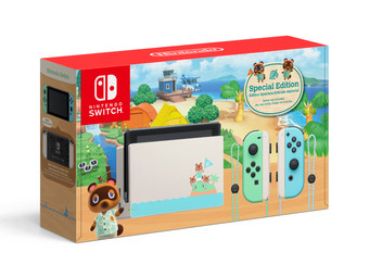 Nintendo Switch Console, Animal Crossing: New Horizons Edition