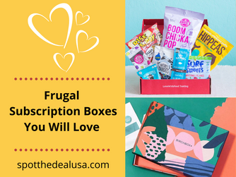 Frugal Subscriptions Boxes You Will Love