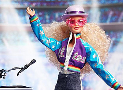 Elton John Barbie Doll