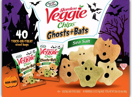 Garden Veggie Ghost and Bats Veggie Snacks Available at Sam's Club