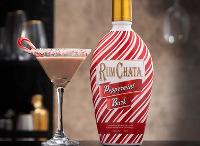 RumChata Released A Peppermint Bark Liqueur For Your Holiday Cocktails