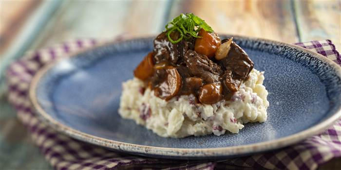 Recipe | How To Make Disney's Beef Bourguignon With Crushed Red-Skinned Potatoes