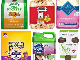 Save $10 When You Spend $40 On Select Pet Food ~ Amazon Deals