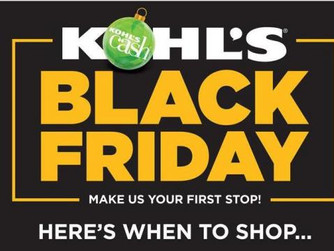 Kohl's Black Friday 2020 | Here's When To Shop!
