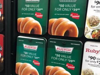 Sam's Club   $50 Worth of Krispy Kreme Gift Cards Just $37.50 Shipped