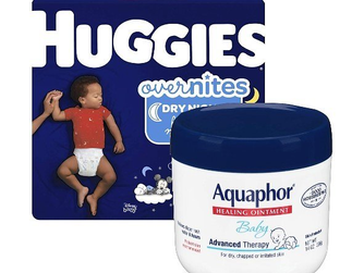 Amazon | $15 Off $75 Baby Essentials (Pampers, Huggies & More)