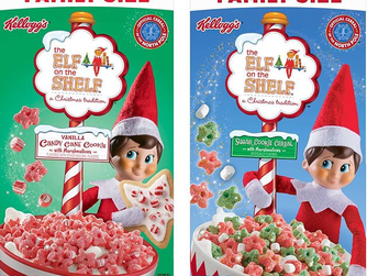 Kellogg's Elf on the Shelf Cereal is Back!