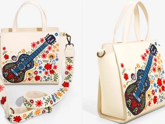 Loungefly Disney Pixar Coco Floral Handbag - BoxLunch Exclusive