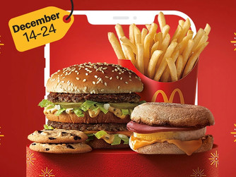 McDonald's | Free Food With App Purchases Now Through Christmas Eve