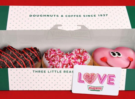 Free 3-Pack of Donuts w/ Krispy Kreme $25 Gift Card Purchase In-Store
