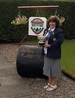 Bowls - Perthshire Ladies Singles Champion 2012