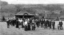 Opening of Aberfeldy Bowling Green in 1915