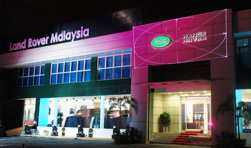 Event design and planing for Land Rover Malaysia's first flagship