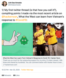 Linh Dao Smooke, COO at Hacker Noon