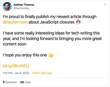 Nathan Thomas, Software Engineer at Twitter