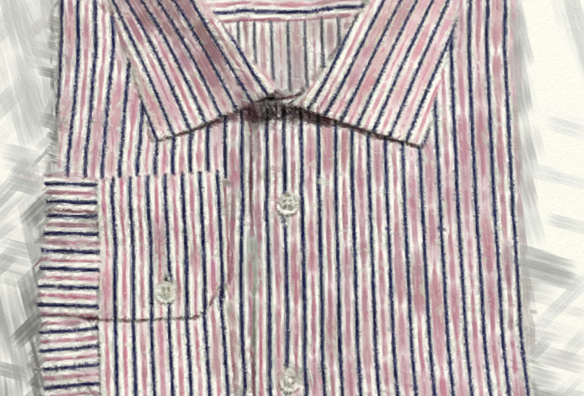 Blue Purple Stripe Shirt