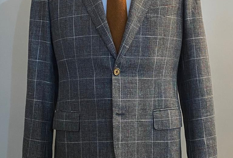 Dary Grey Check Jacket