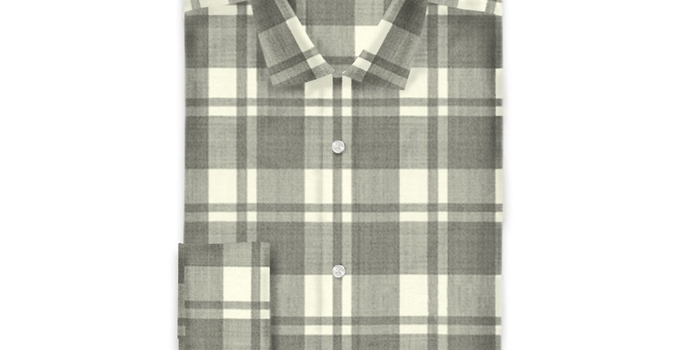 Reda Active Grey Check Shirt