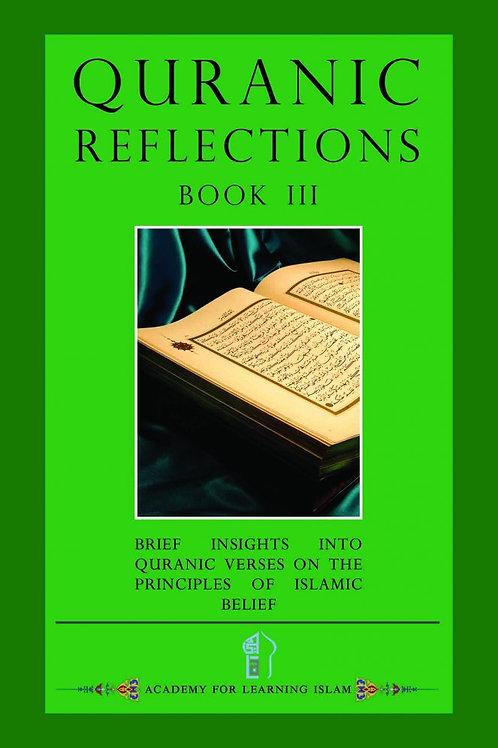 Quranic Reflection Book 3