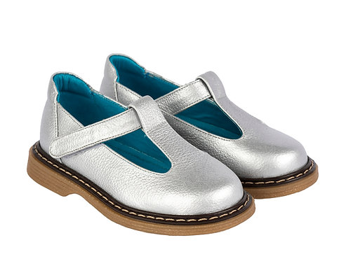 Mary Janes Silver