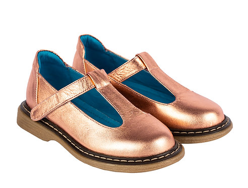 Mary Janes Rose gold st