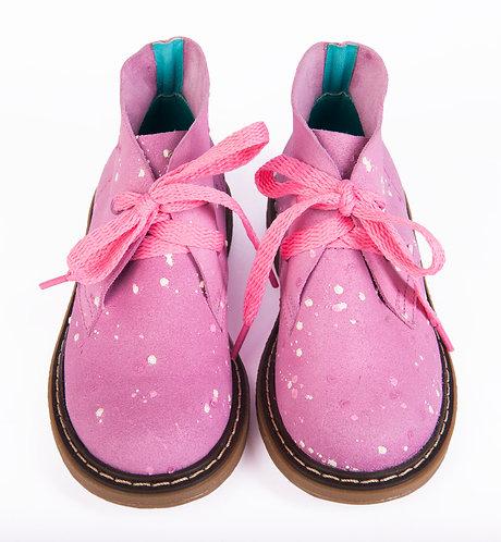 Tintin Pink Splatters