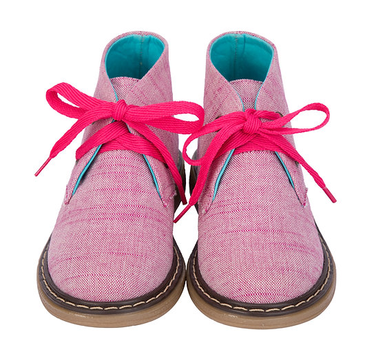 Tintin Pink Linen