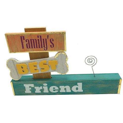 Family's Best Friend photo display