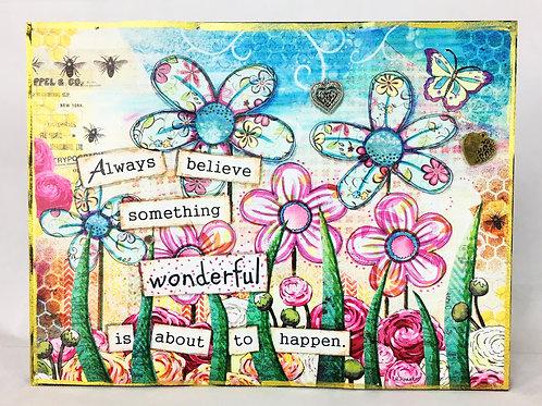 Flower Magnet Board
