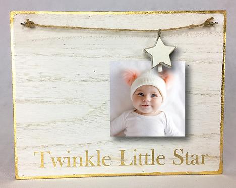 Star Charm Photo Clip Board
