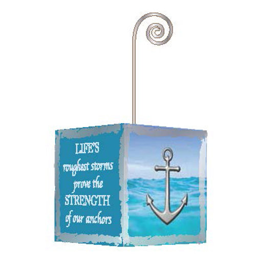 Small Anchor Photo Cube
