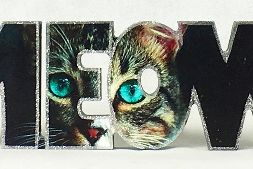 Meow 2 Block Letters
