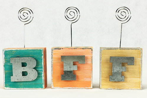 BFF Photo Blocks w letters