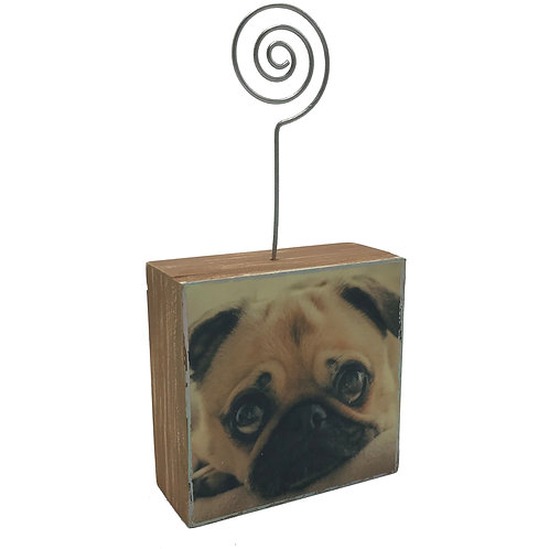 Pug Photo Block