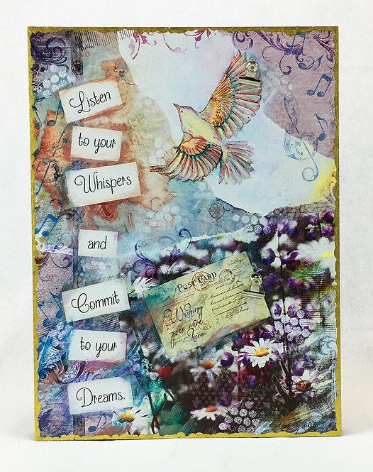 Whisper & Dream Photo Clip Board