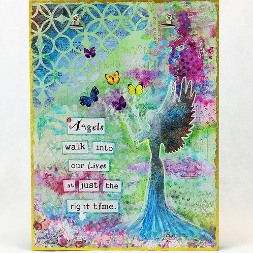 Angel Art Photo Board