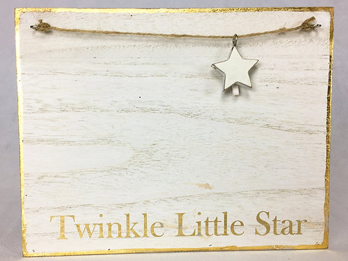 Star Charm Wire Plaque