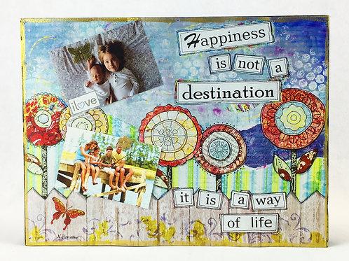 Flower 2 Magnet Board